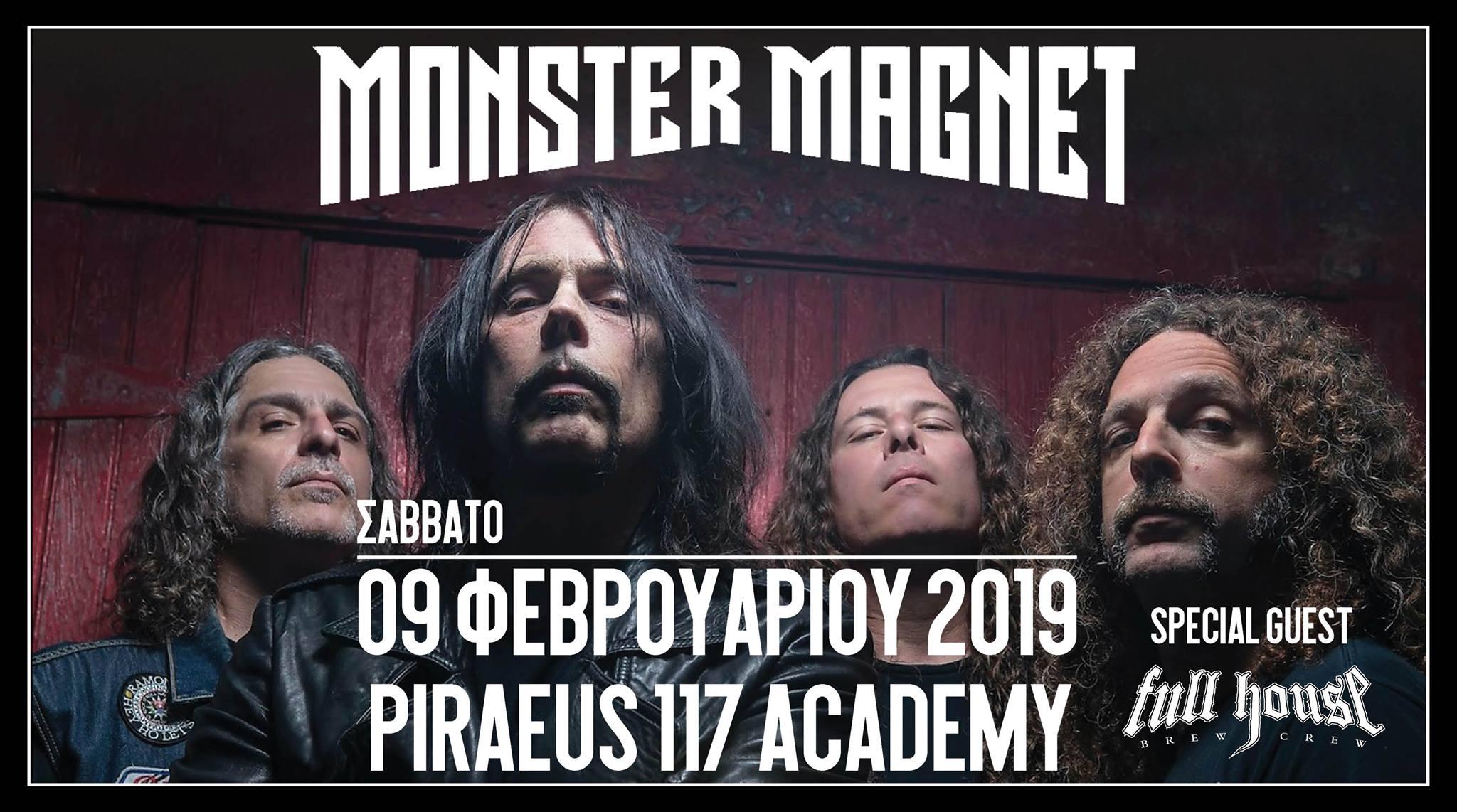 Αποτέλεσμα εικόνας για monster magnet athens 2019