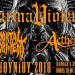 Karma Violens (Release live show) w/ Mortal Torment, Aetherian @ AN CLUB