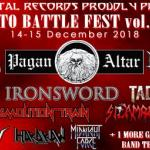 INTO BATTLE FESTIVAL VOL II