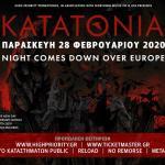 Katatonia LIVE IN ATHENS