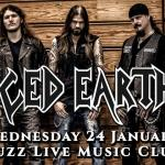 ICED EARTH LIVE IN ATHENS