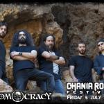 CHANIA ROCK FESTIVAL: ΑΝΑΚΟΙΝΩΘΗΚΑΝ ΚΑΙ ΟΙ DOOMOCRACY!