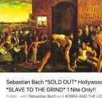 O SEBASTIAN BACH ΠΑΡΟΥΣΙΑΣΕ ΣΕ ΖΩΝΤΑΝΗ ΕΜΦΑΝΙΣΗ ΟΛΟΚΛΗΡΟ ΤΟ SLAVE TO THE GRIND... (16 VIDEOS)