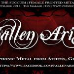 FALLEN ARISE ΣΤΟ VOICES OF THE SUCCUBI FESTIVAL