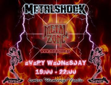 METALSHOCK RADIO SHOW 5/5/2021 PLAYLIST