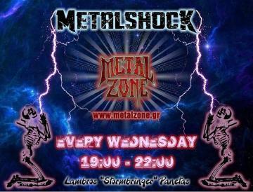 METALSHOCK RADIO SHOW 27/10/21 PLAYLIST