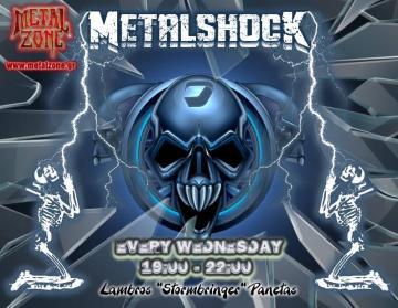 METALSHOCK RADIO SHOW 13/1/2021 PLAYLIST