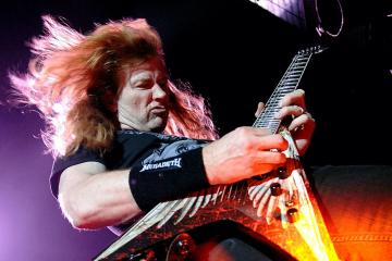 """MEGADETH FRONTMAN DAVE MUSTAINE ON NEW ALBUM - """"WE SHOULD BE TURNING THIS IN ANY DAY NOW"""""""