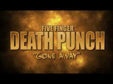 "Five Finger Death Punch - ""Gone Away"" (Lyric Video)"