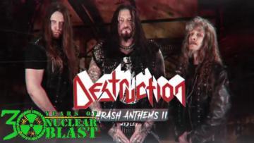 DESTRUCTION - Thrash Anthems II (OFFICIAL MEDLEY)