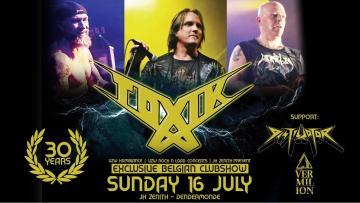 Toxik - Live (Full Show) @ J.H. Zenith, Dendermonde, Belgium (16-07-2017)