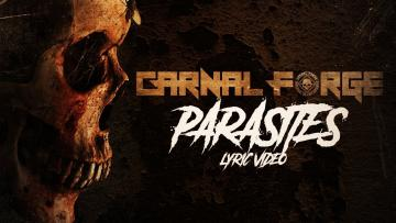 Carnal Forge - Parasites (Official Lyric Video)