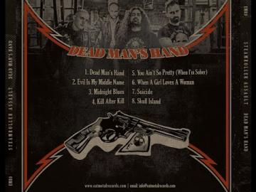 STEAMROLLER ASSAULT - Dead Man's Hand - NEW ALBUM PREVIEW
