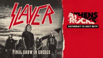 Slayer - AthensRocks 2019