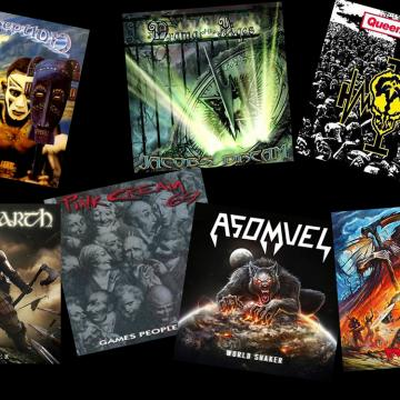 ΣΑΝ ΣΗΜΕΡΑ 03 ΜΑΙΟΥ ΚΥΚΛΟΦΟΡΗΣΑΝ... QUEENSRYCHE, PINK CREAM 69, CONCEPTION, JACOBS DREAM, AMON AMARTH, ASOMVEL, RUTHLESS