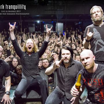 DARK TRANQUILLITY AND ENSIFERUM JOIN FORCES FOR EUROPEAN TOUR IN SPRING 2022