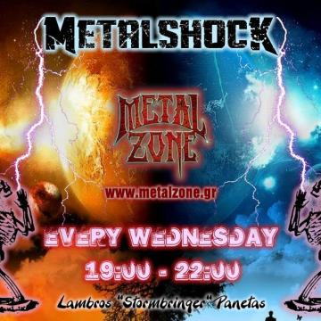 METALSHOCK RADIO SHOW 9/12/2020 PLAYLIST