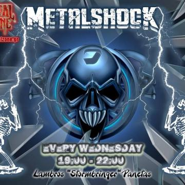 METALSHOCK RADIO SHOW 10/2/2021 PLAYLIST