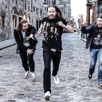 GAMA BOMB - PREMIERE VIDEO FOR 'THUNDER OVER LONDON' TRACK