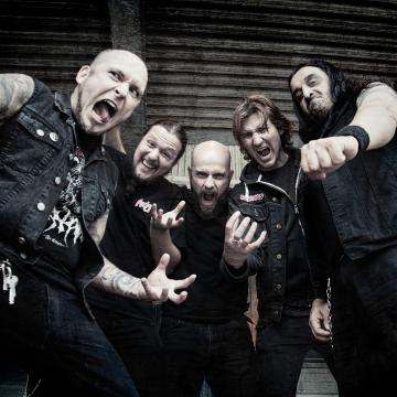 """NIGHTRAGE RELEASE OFFICIAL LYRIC VIDEO FOR """"SWALLOW ME"""""""