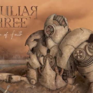 """PECULIAR THREE – single """"The Sentient"""" από το άλμπουμ """"Leap of Faith"""""""