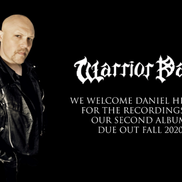 DANIEL HEIMAN the new voice of WARRIOR PATH- Message from Bob Katsionis