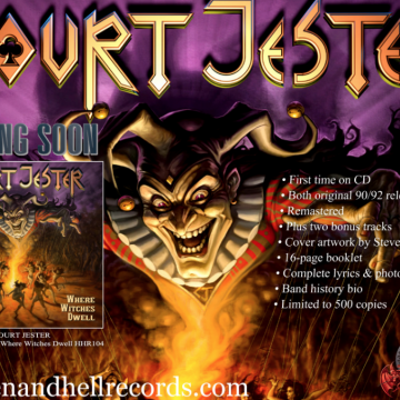 COURT JESTER on Heaven and Hell Records