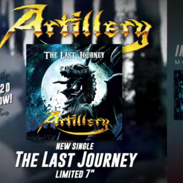 "ARTILLERY to release ""The Last Journey"" single as tribute to Morten Stützer on vinyl and digitally October 16th"