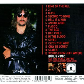 """ANNIHILATOR FRONTMAN / FOUNDER JEFF WATERS LOOKS BACK ON RECORDING 1994'S KING OF THE KILL ALBUM - """"MY FIRST 'NOT IN A BIG AND REAL STUDIO' RECORD"""""""