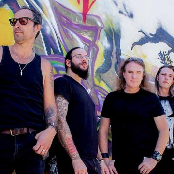 """THE LUCID FEAT. DAVID ELLEFSON RELEASE NEW SINGLE """"DAMNED""""; AUDIO"""