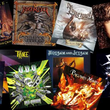 ΣΑΝ ΣΗΜΕΡΑ 20 ΜΑΙΟΥ ΚΥΚΛΟΦΟΡΗΣΑΝ... TRANCE, SAVATAGE, FLOTSAM AND JETSAM, NARITA, ICED EARTH, MARTY FRIEDMAN, HAMMERFALL...
