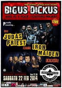 BIGUS DICKUS PRIEST& MAIDEN TRIBUTE @ Rock House