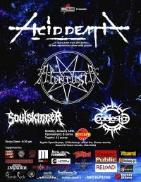 ACID DEATH (5 years arise from the Ashes) @ Kyttaro Live Club