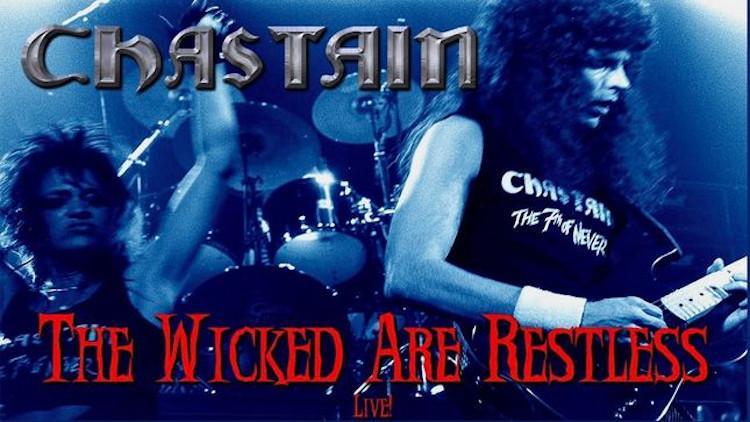 "CHASTAIN: REMASTERED ΠΑΛΙΟ LIVE BINTEO ΓΙΑ ΤΟ ""THE WICKED ARE RESTLESS"""