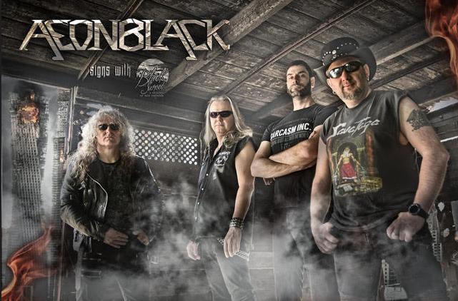 AEONBLACK: new album on Black Sunset